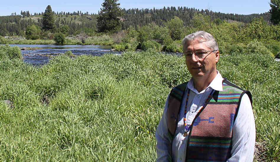 "Don Gentry, chairman of the Klamath Tribes, says the tribes have not been able to fish for suckerfish for the past 27 years. ""The condition of our fish is just so dire,"" he says."