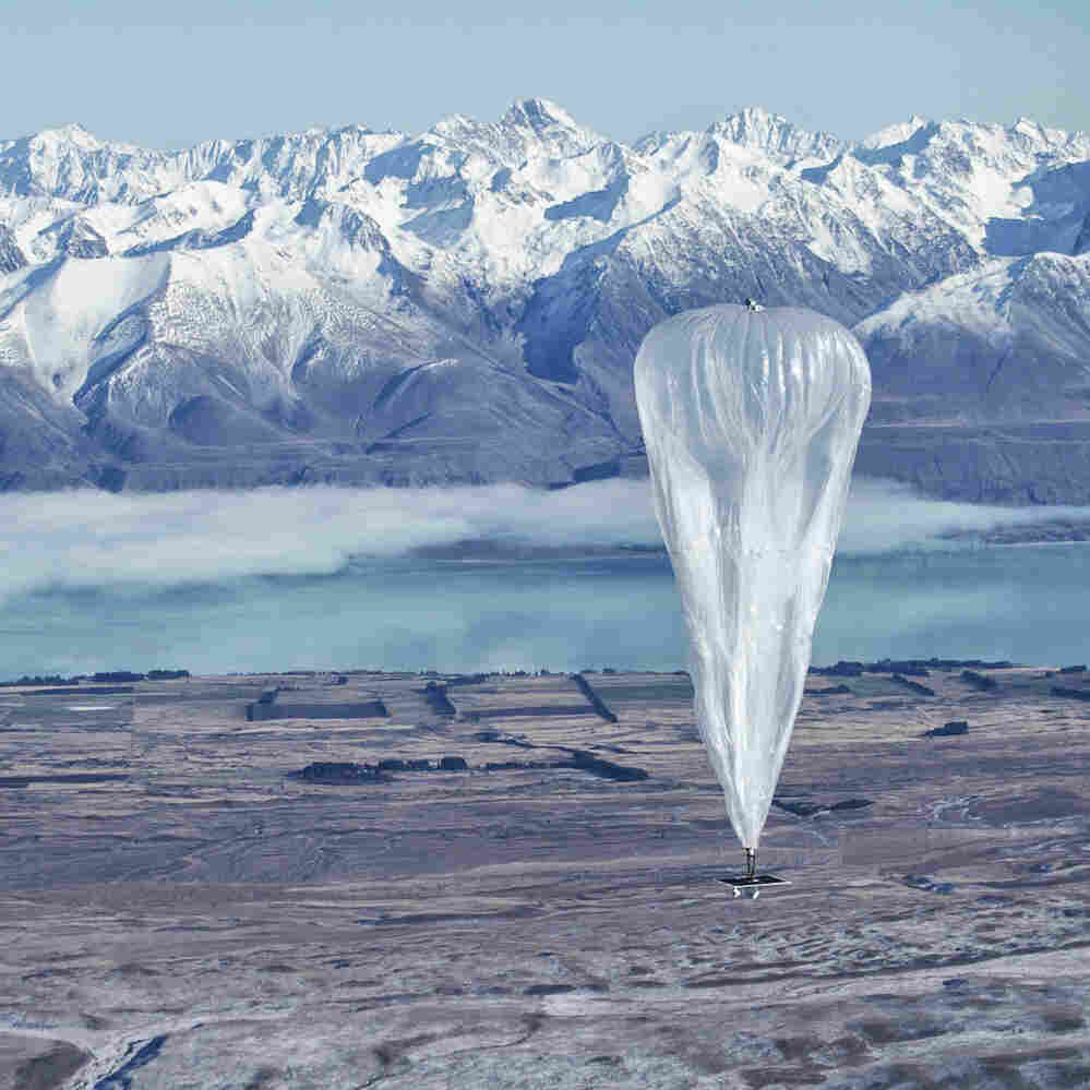 Google's 'Looney' Internet Balloons Invade New Zealand