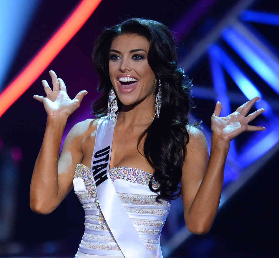 commercial break in the 2013 Miss USA pageant in Las Vegas on Sunday