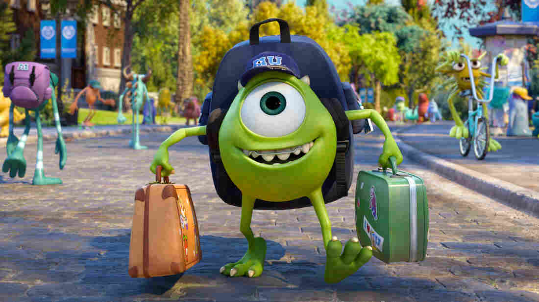 For Billy Crystal's Mike, the big green eyeball of Monsters University, scaring hardly comes naturally.