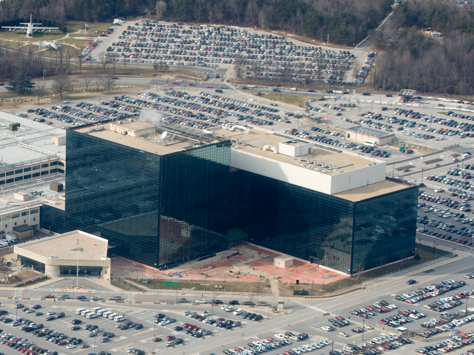 The National Security Agency (NSA) headquarters at Fort Meade, Md.