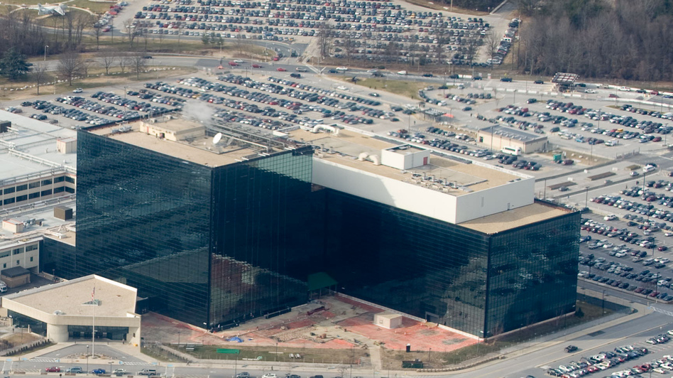 The National Security Agency (NSA) headquarters at Fort Meade, Md. (Getty Images)