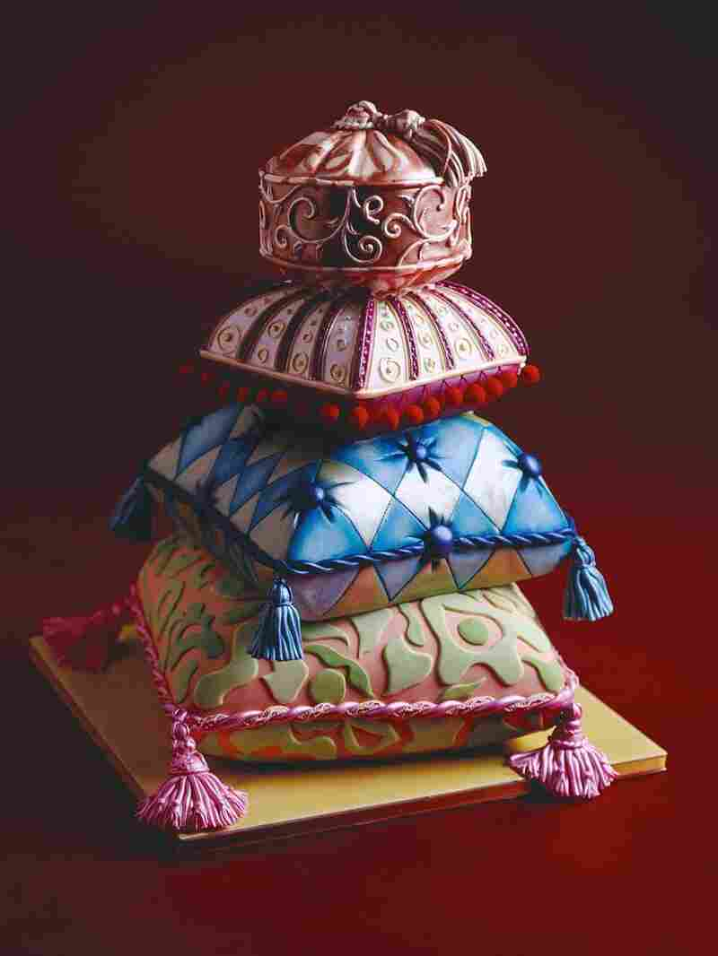 """The """"Comfort Food"""" cake as pictured in Cakes To Dream On."""