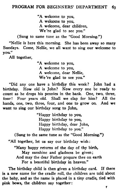 This One Page Could End The Copyright War Over 'Happy Birthday