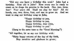 This One Page Could End The Copyright War Over 'Happy Birthday'
