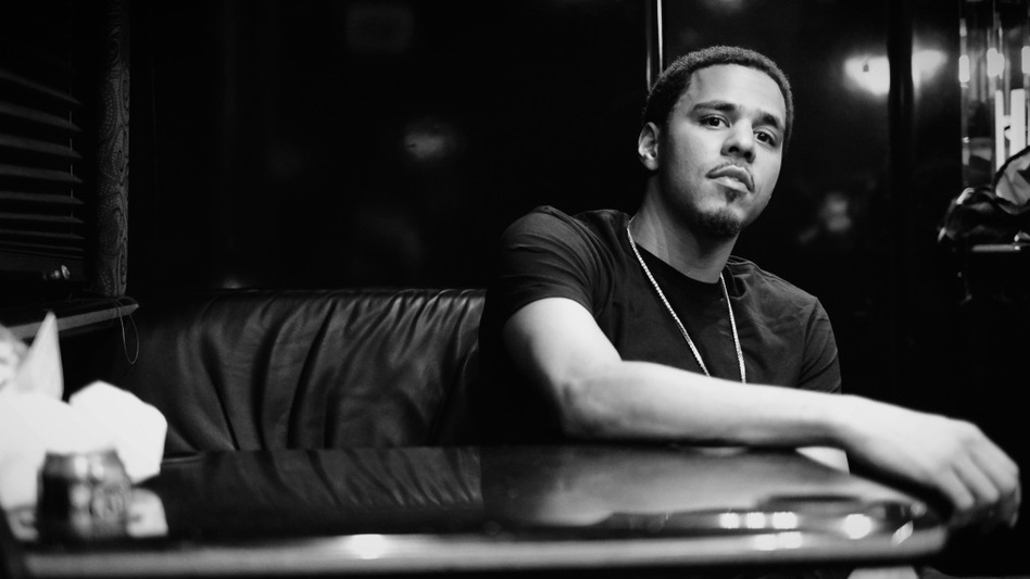 Even the name of J. Cole's new album, <em>Born Sinner</em>, is a nod to the hip-hop lineage from which he descends: Biggie > Jay > J. (Courtesy of the artist)