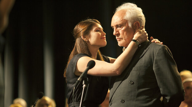 Gemma Arterton plays Elizabeth, the director of a senior citizens' choir that provides an outlet for curmudgeon retiree Arthur (Terence Stamp) and his wife, Marion, who's battling cancer.
