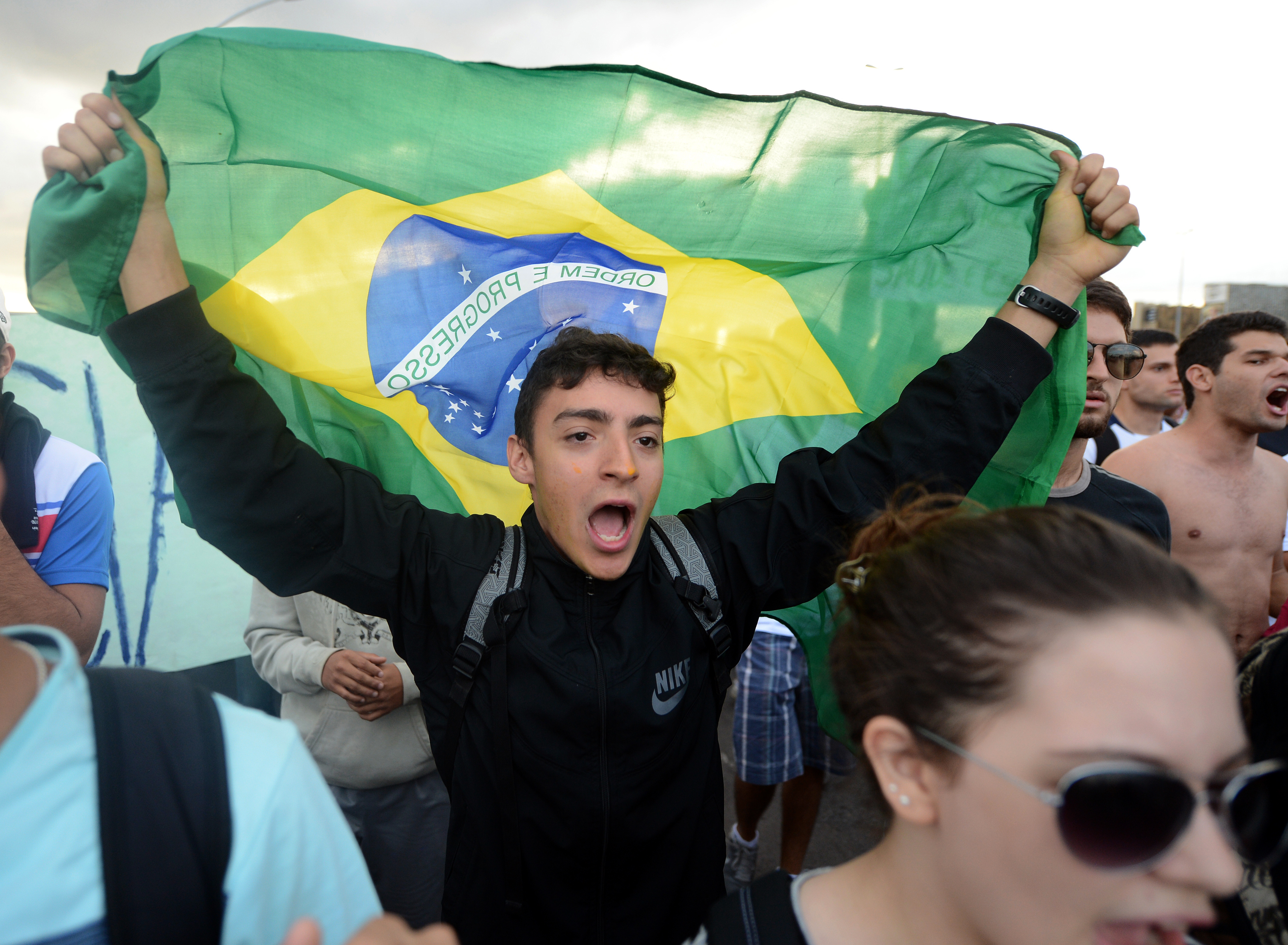 Mass Anti-Government Protests Swell In Brazil