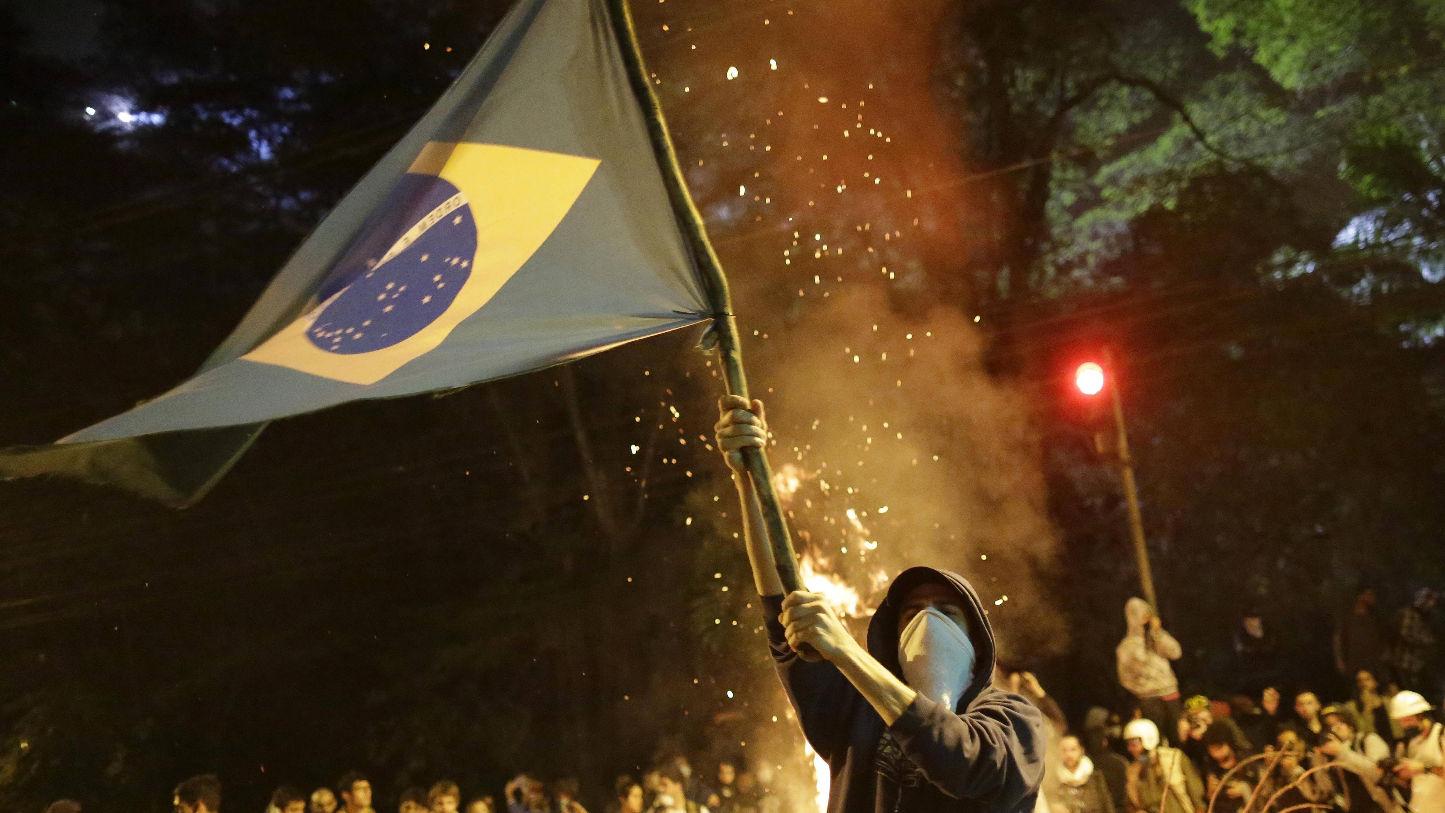 With Inspiration From Turkey, Brazil Discovers Mass Protests