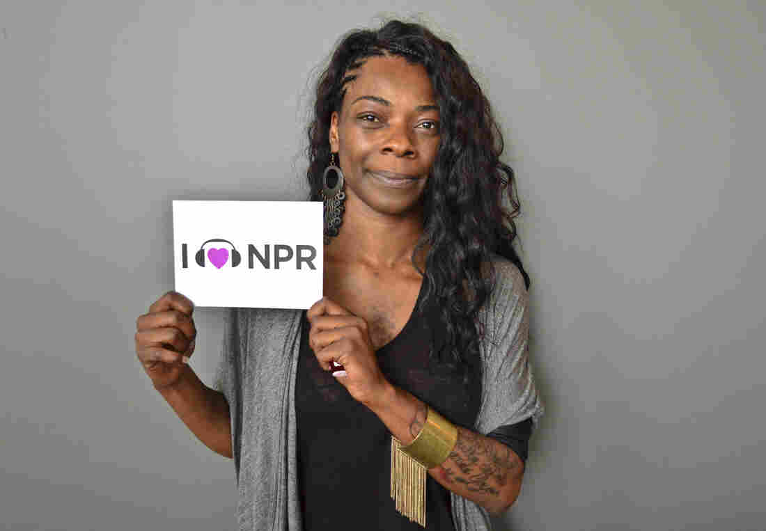 Buika at NPR's Washington, D.C., headquarters.