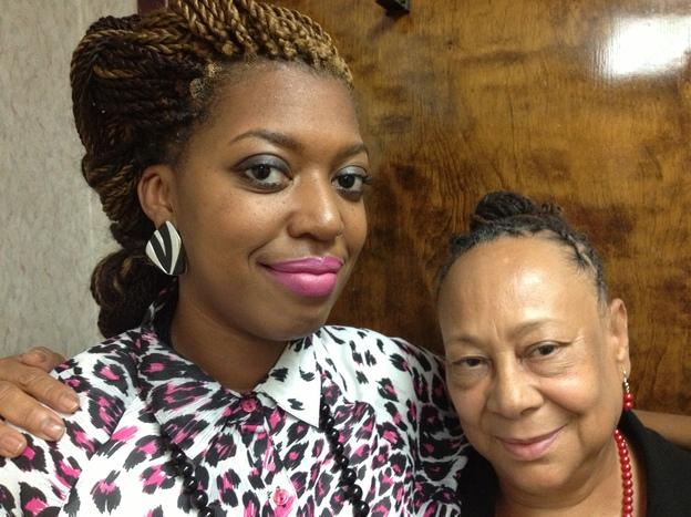 Susu members Tamara Bullock and Patricia Hamilton