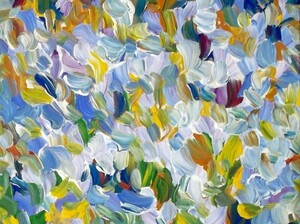 Flower Study #14 by Vladimir Kryloff, the painting NPR's Uri Berliner bought as an investment for $450.