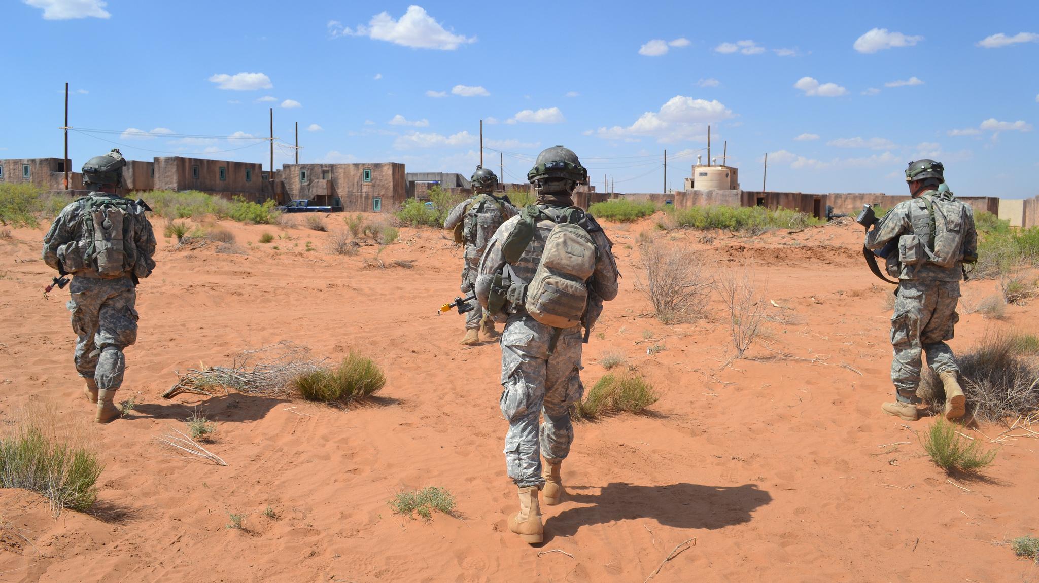 Military base near el paso tx