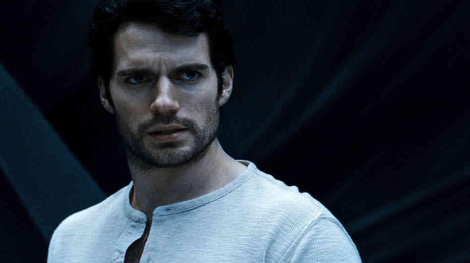 Henry Cavill as Clark Kent in Man Of Steel.