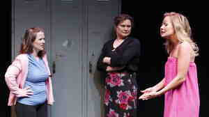 Mary Theresa Archbold (left), Anita Hollander and Tiffan Borelli star in Bekah Brunstetter's Gorgeous, part of Theater Breaking Through Barriers' initial Some of Our Parts Festival in 2011. A third round of new
