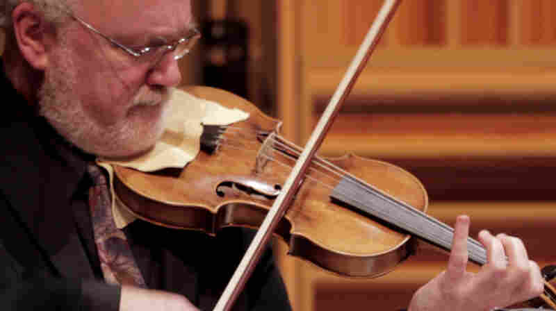 Daniel Stepner performs on the violin once owned by Mozart himself.