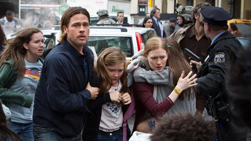 Movie Review - 'World War Z' - When Going Viral Isn't Such A Good Thing :  NPR