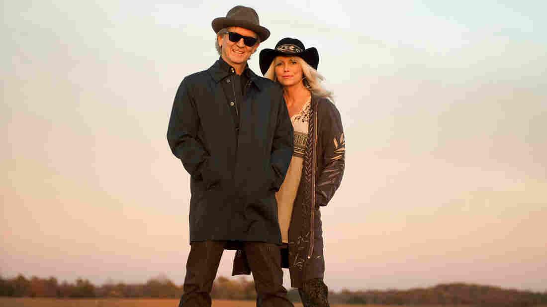 Rodney Crowell and Emmylou Harris.