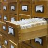 A card catalog