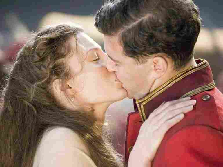Pamina (Amy Carson) and Tamino (Joseph Kaiser) in Kenneth Branagh's production of Mozart's The Magic Flute.
