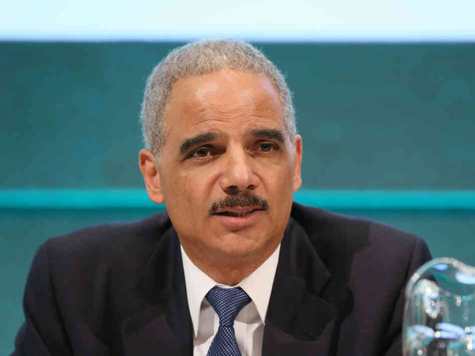 Attorney General Eric Holder reportedly sig