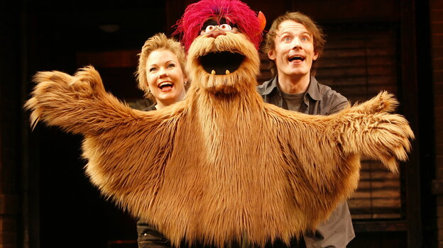 Sucks to be them? Avenue Q's Trekkie Monster (with puppeteers Jennifer Barnhart and Christian Anderson) became a Broadway star, but he got his start off-Broadway after a summer workshop at the O'Neill Theater Center. AP's decision to cut coverage of such feeder venues means a grimmer future for promising art and artists, writer Howard Sherman says.