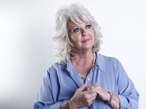 Celebrity chef Paula Deen poses for a portrait on Jan. 17, 2012, in New York. In her deposition for a lawsuit by a former employee, Deen admits to having used racial slurs, among other things.