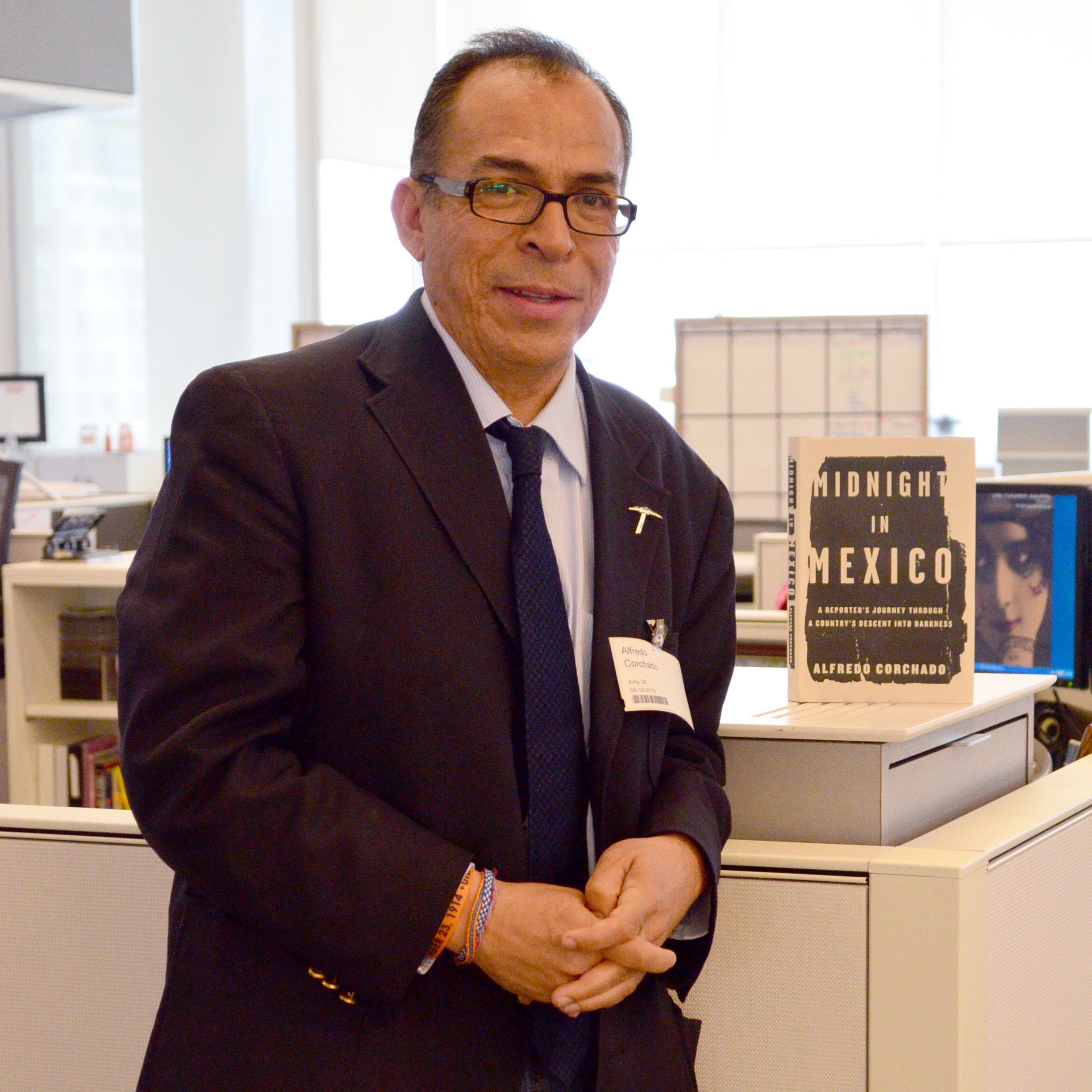 Alfredo Corchado at NPR's Washington D.C. headquarters.