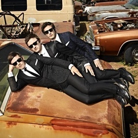 Left to right: Jorma Taccone, Akiva Schaffer and Andy Samberg met in high school in Berkeley, Calif., and formed Lonely Island after college.