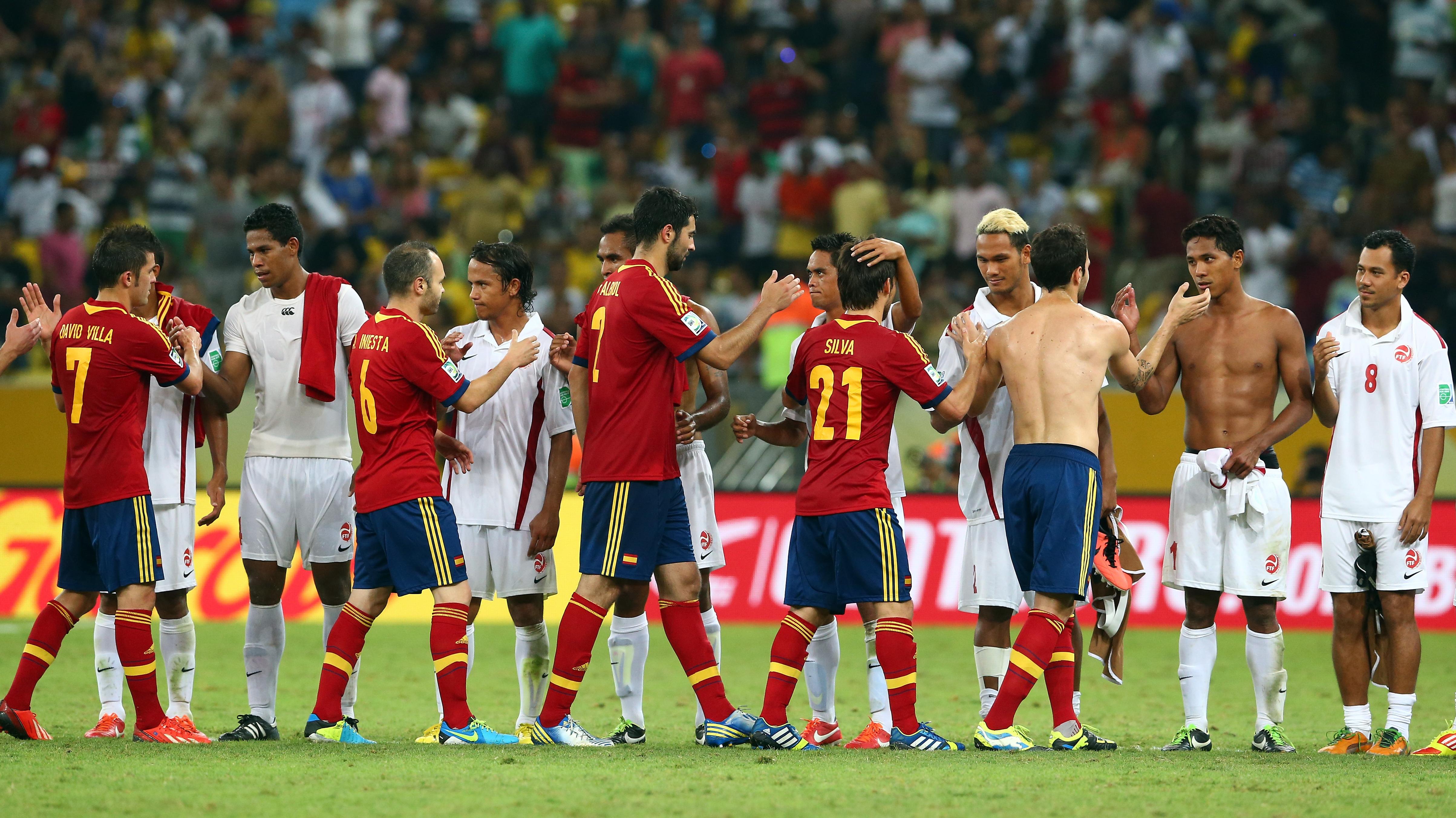 Soccer: Tahiti Loses, 10-0, And Keeps Celebrating In Brazil