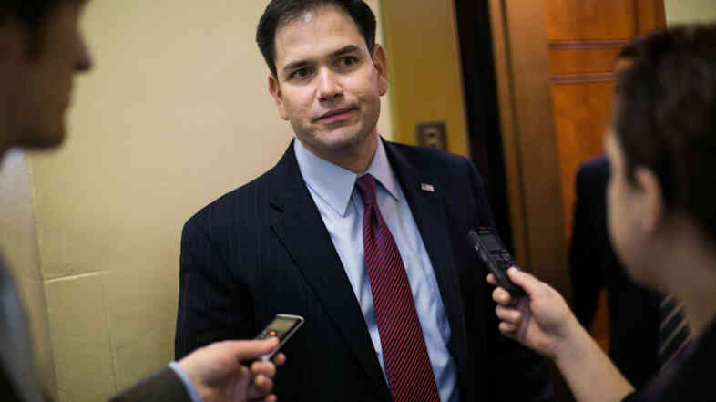Florida Sen. Marco Rubio is a member of the so-called Gang of Eight, a bipartisan group of lawmakers working on immigration reform.