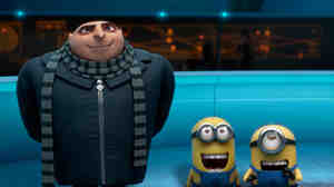 He's still a would-be world-conquerer by day, but Gru (left, with minions) has been settling into his role as an adoptive dad by night. His new responsibilities make him a likely recruit for the Anti-Villain League, which asks him to ... well, we shouldn't give too much away.