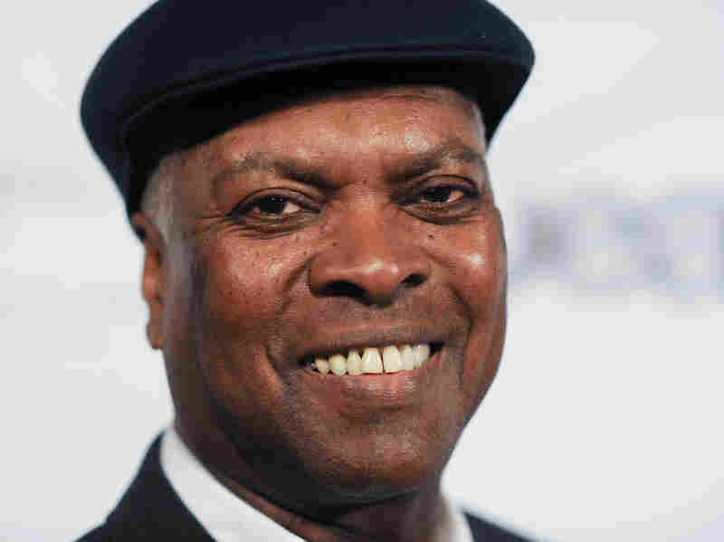 Booker T. Jones arrives at the Hyatt Regency Century City Plaza Hotel in California on May 9.