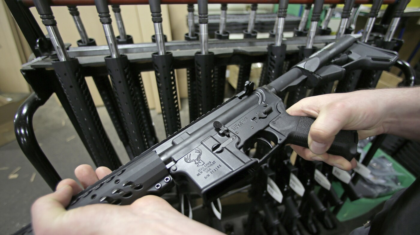 Military Guns For Sale >> Why The Ar 15 Is More Than Just A Gun Npr