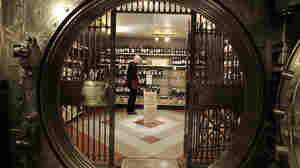 Kyle Fronke inventories the wine in Kahn's Fine Wines and Spirits in Indianapolis last year. Only liquor stores in the state can sell cold beer, and on Sunday, practically all carry out alcohol sales are prohibited.