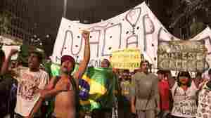Brazil's President Offers Carrot And Stick To Protesters
