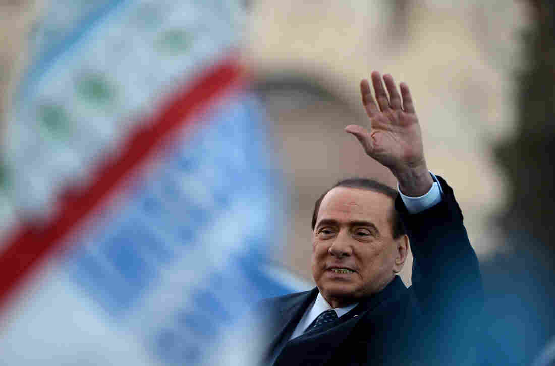 Italy's former Prime Minister Silvio Berlusconi  in May of 2013.