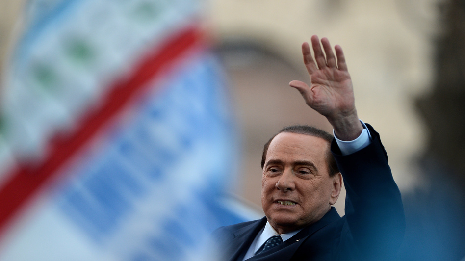 Italy's former Prime Minister Silvio Berlusconi  in May of 2013. (AFP/Getty Images)