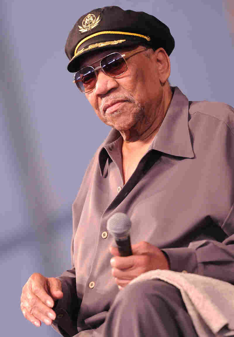 "Bobby ""Blue"" Bland at the 2011 New Orleans Jazz & Heritage Festival."