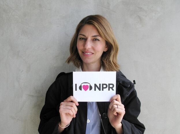 Sofia Coppola at NPR West.