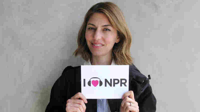 Sofia Coppola at NPR West.