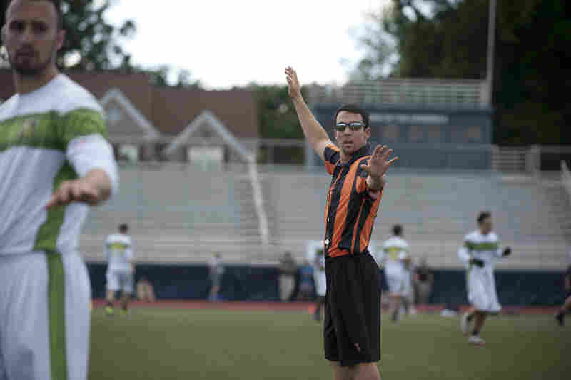 "Referees are a new addition to Major League Ultimate. While international play is 100 percent self-officiated, U.S.A. Ultimate does have ""observers"" who give a third-party perspective to a disputed play."