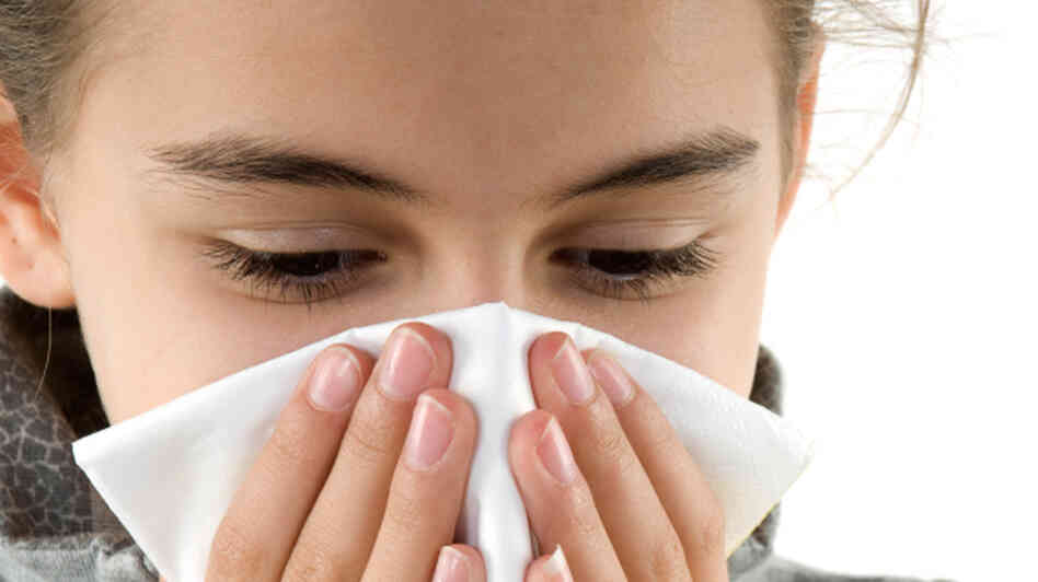 Colds can easily turn into sinus infections in children.