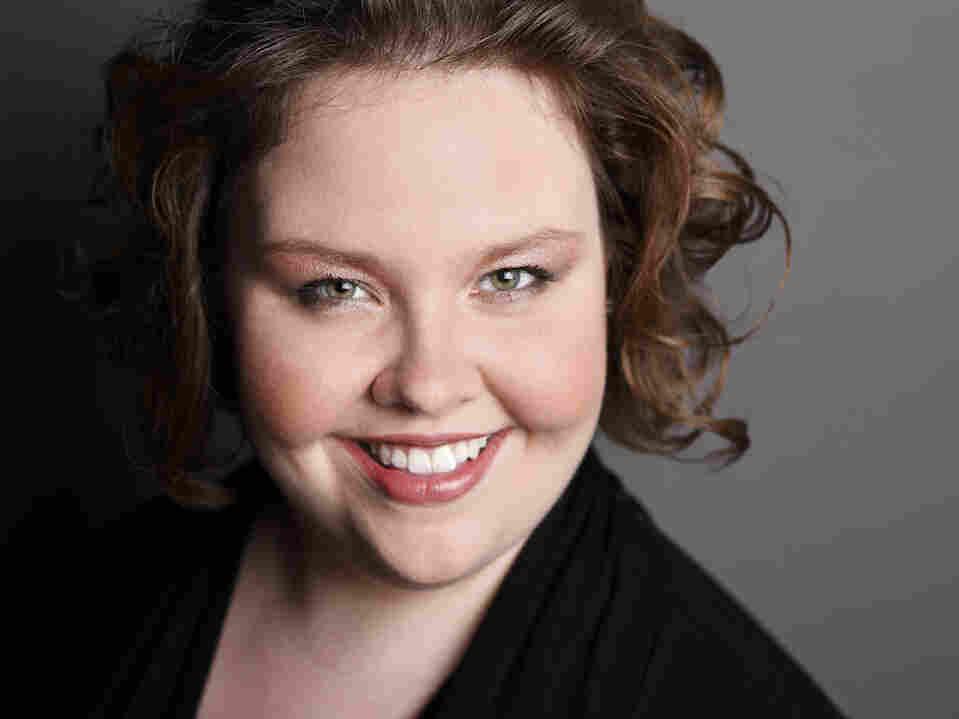 Mezzo soprano Jamie Barton, who won the BBC Cardiff Singer of the World competition Sunday night.