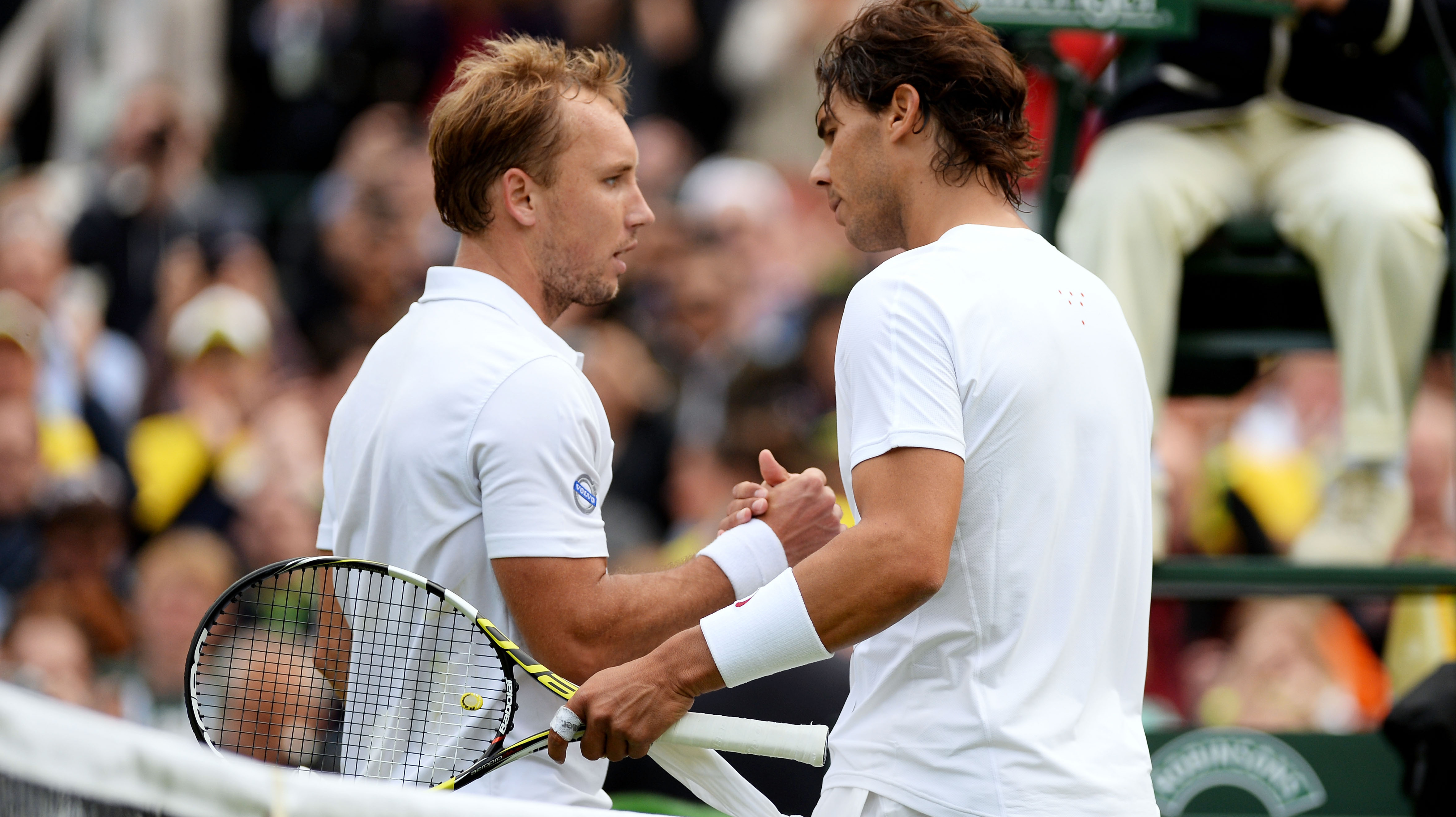 Rafael Nadal Loses In First Round Upset At Wimbledon The Two Way Npr