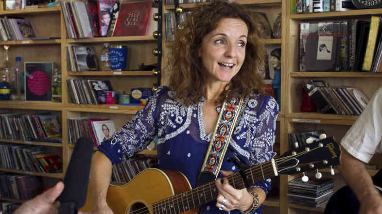 Patty Griffin performs a Tiny Desk Concert in the NPR Music offices.