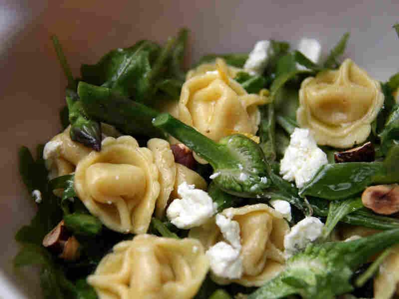 Spring Vegetable Tortellini Salad