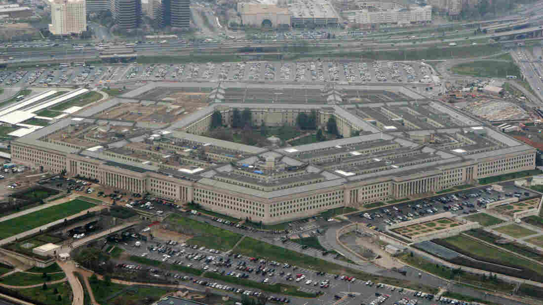 The Pentagon is seen from the air in a 2008 photo.