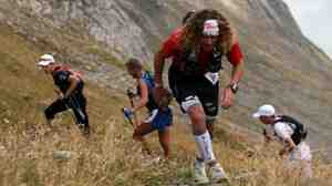 French ultramarathoner Chistophe Le Saux took third place in the Tor de Gentes.