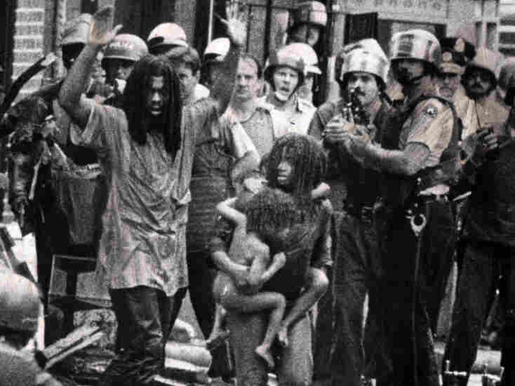 Throughout the '70s and '80s, the radical African-American MOVE organization had several dramatic encounters with police.